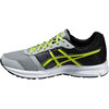 asics M's Patriot 8 Shoes Silver Grey/Lime/Black